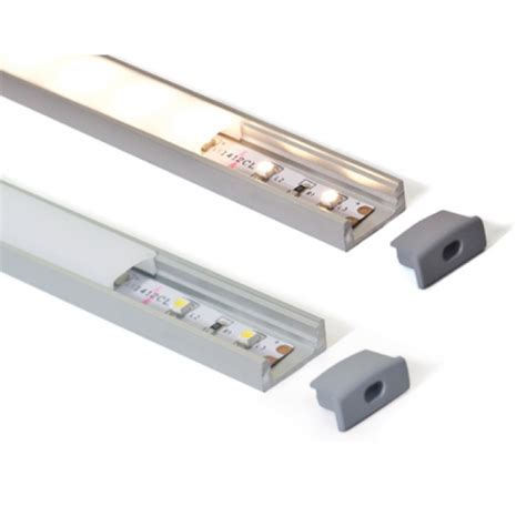 aluminium extrusions for led lighting alu channel for strip lights slimline clear leds 4 life
