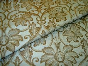 Fabric For Drapes And Upholstery Fabric Store Remnant Silk Drapery Upholstery Damask Brown
