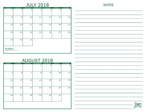 printable calendar july august 2018 july august 2018 calendar printable tire driveeasy co