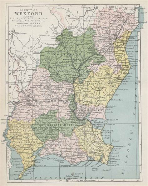 map of wexford wicklow map