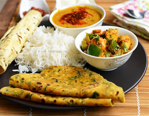 Lunch Menu 25 North Indian Lunch Recipes Raks Kitchen