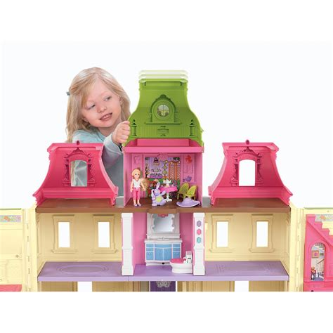 fisherprice doll house fisher price loving family dream dollhouse
