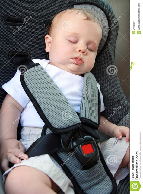 infant sleeping in car seat safe baby sleeping in car seat stock image image 20231601