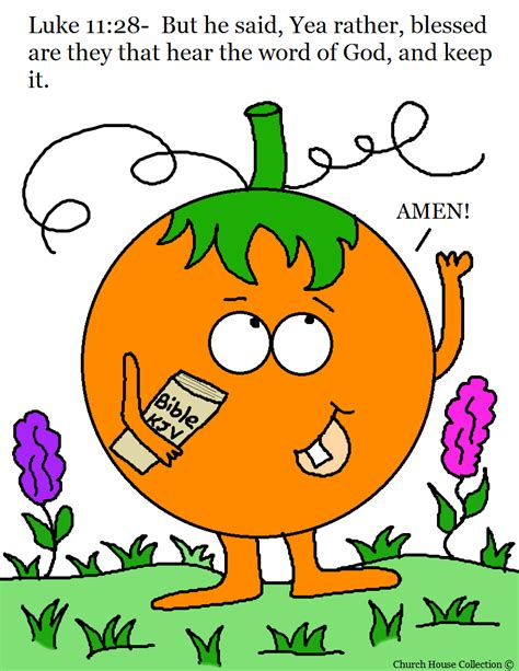 pumpkin coloring pages for sunday school church house collection blog october 2013