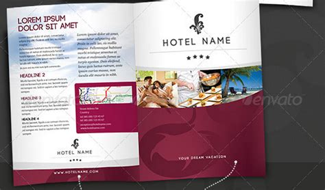 10 Glorious Hotel Brochure Templates To Amaze Your Audiences Psd Ai Free Download Hotel Flyer Template