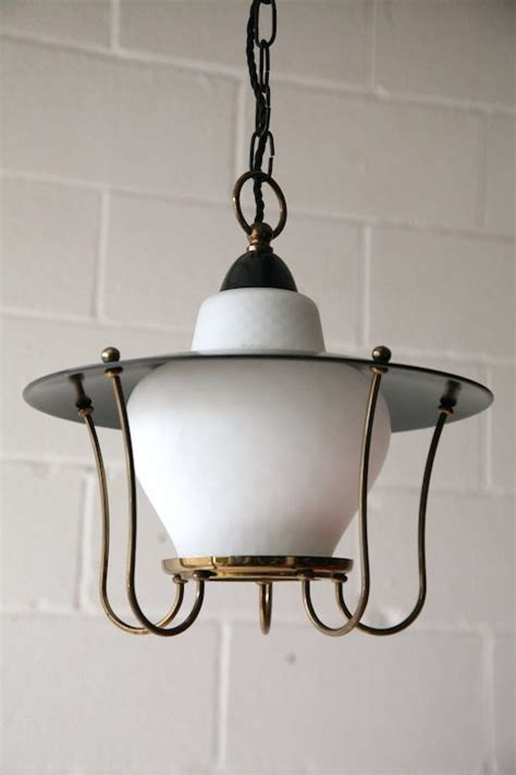 Black Lantern Ceiling Light Black 1950s Lantern Ceiling Light And Chrome