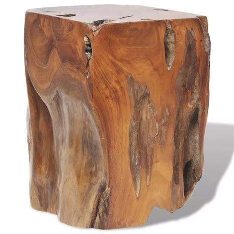 sgabello in legno vidaxl sgabello in legno massello di teak 30x30x40 cm