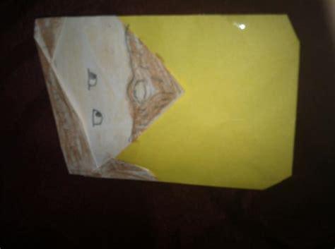 Origami Qui Gon Jinn - qui gon jinn origami yoda