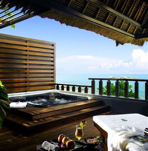 con spa privata terrazzo con spa privata