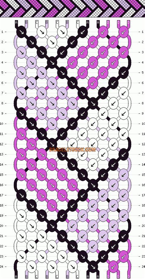 xsd string pattern d friendship bracelet patterns on pinterest bracelet