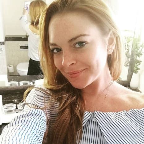 Is Lindsay Lohan These Days by Lindsay Lohan Stuns Fans Sparks Plastic Surgery Rumors