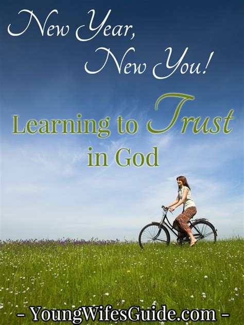 new year learning new year new you learning to trust in god s