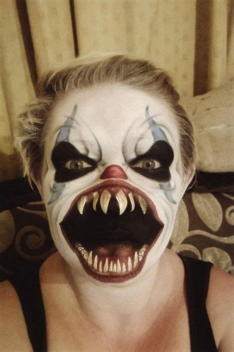 Best 10 Scary Clowns Ideas by Top 50 Des Maquillages Flippants D Horreur Pour