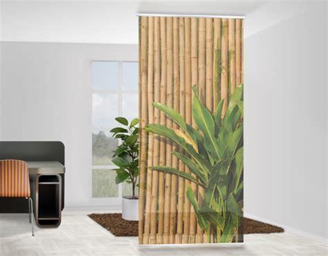 vorhang aus bambus design raumteiler bamboo wall schiebe vorhang gardine