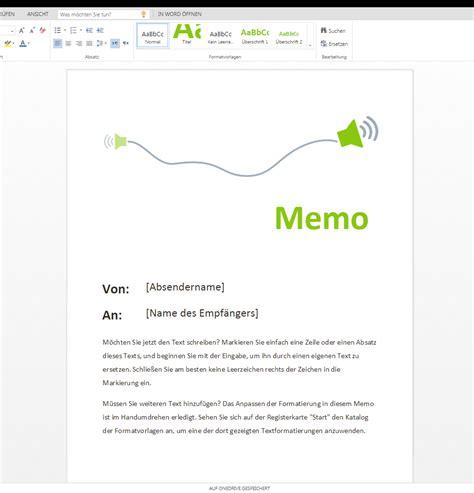Word Vorlage Memo Memo Jetzt Zum Runterladen Auf Wordvorlage De