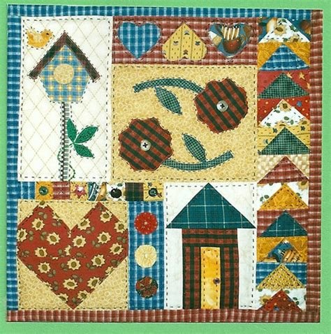 Country Patchwork - patchwork patterns