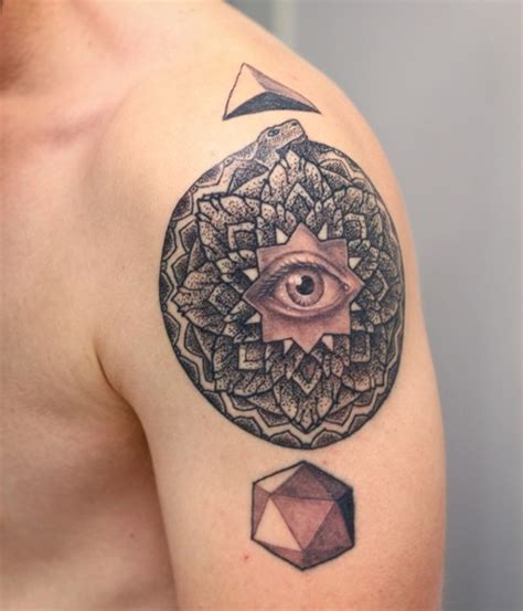 eye tattoo for man eye tattoo for men on shoulder tattoos for men