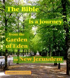 Garden Of Bible New Jerusalem The Consummation New Jerusalem Is The