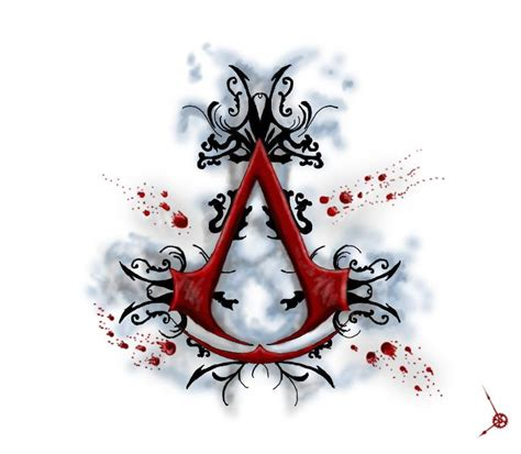 assassins creed tattoo design by xxmoonlightwolvexx on