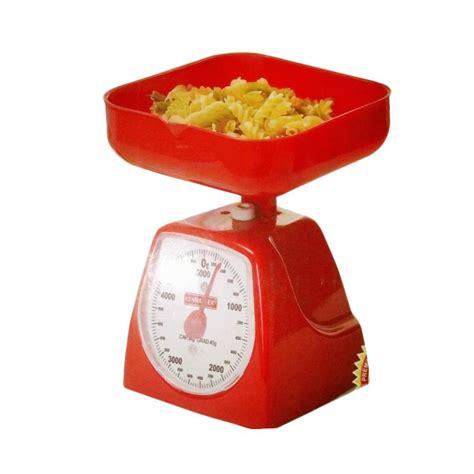 Timbangan Untuk Bahan Roti jual kenmaster timbangan kue 5 kg merah harga