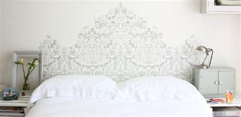 headboard wallpaper get dreamy with a headboard 10 ways with wallpaper
