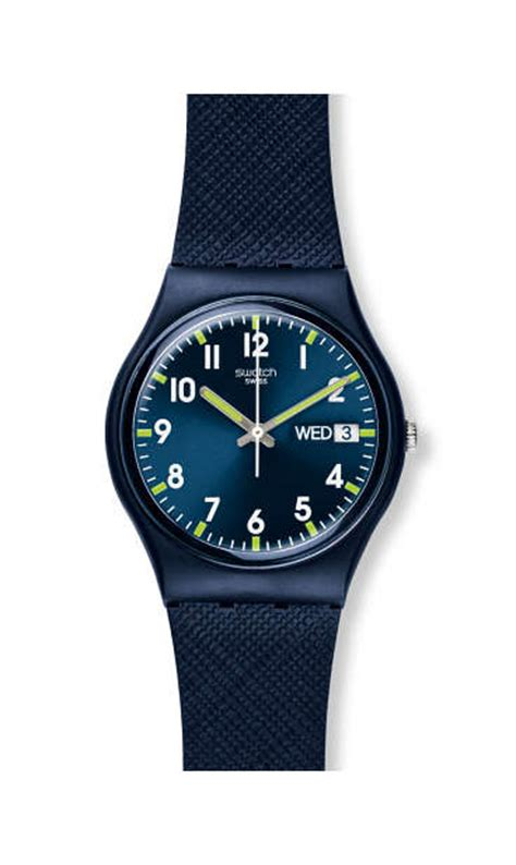 Jam Tangan Wanita Mes Hb268 Blue swatch 174 store officiel montres suisses tendance