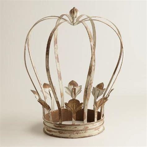 large metal crown decor world market