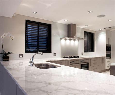 marble bench top white marble kitchen bench top kitchens pinterest