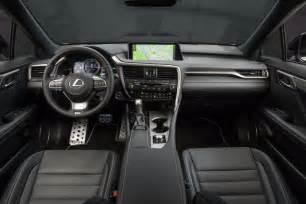 Lexus Rx F Sport Interior 2016 Lexus Rx Lineup Confirmed For Australia Arrives