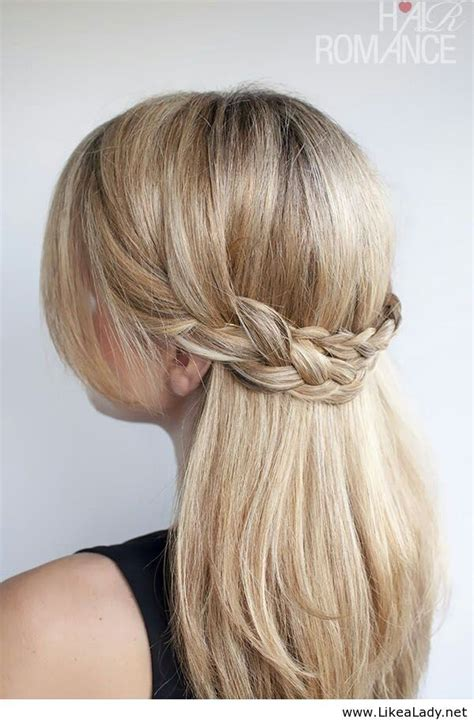 hair updo pictures with braids half updo braid hair beauty pinterest half updo