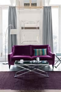 Grey And Purple Sofa Best 25 Purple Sofa Ideas On Purple Living