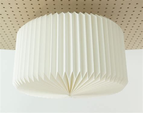 Craft Paper L Shades - ramekin origami paper ceiling l shade white