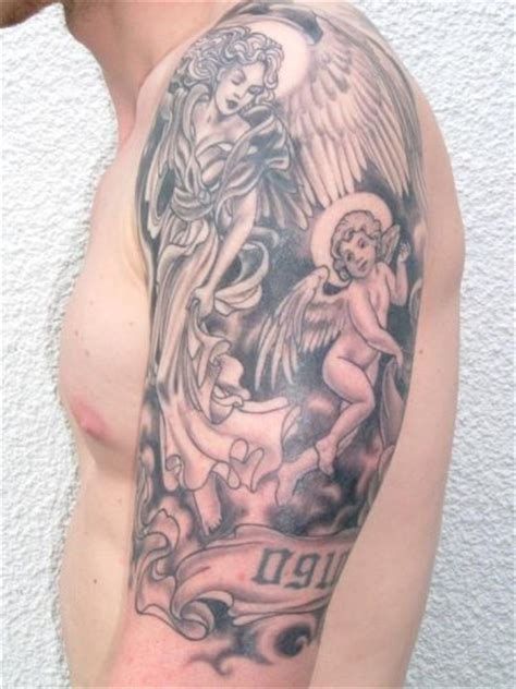 angel and cherub tattoos designs info