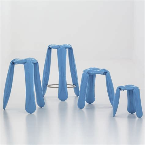 hocker blau buy now the plopp bar stool by zieta at the shop