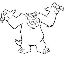 monsters colors 7 monsters inc coloring pages