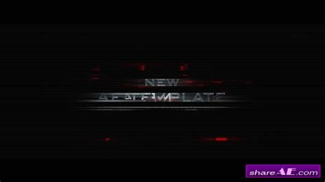 after effects free template glitch trailer glitch trailer 6599767 after effects project videohive