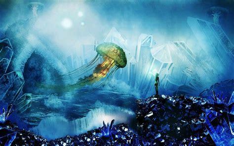 jellyfish wallpaper for walls jellyfish wallpapers wallpaper cave