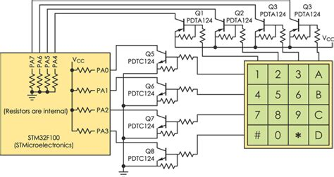 pull up resistor for keypad pull up resistor keypad 28 images mikronauts 187 raspberry pi i2c 4 215 4 matrix keypad with