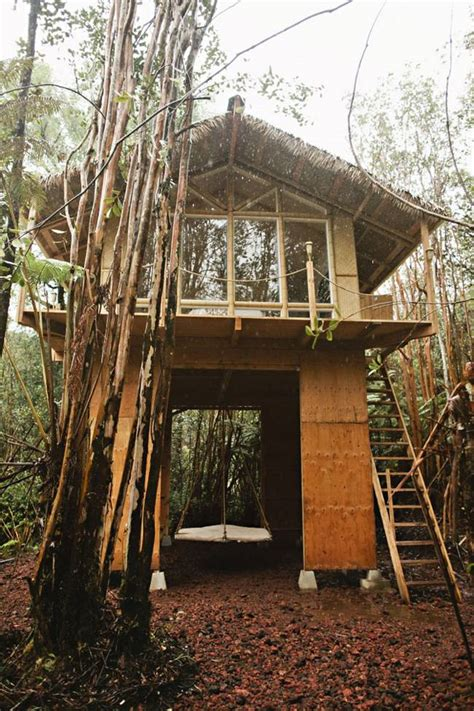 Cheap Place To Live by Woman Builds Hawaii Tiny Off Grid Vacation Home For