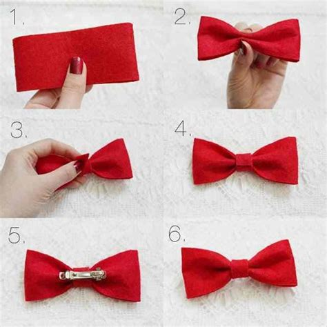 how to make a bow step by step image guides