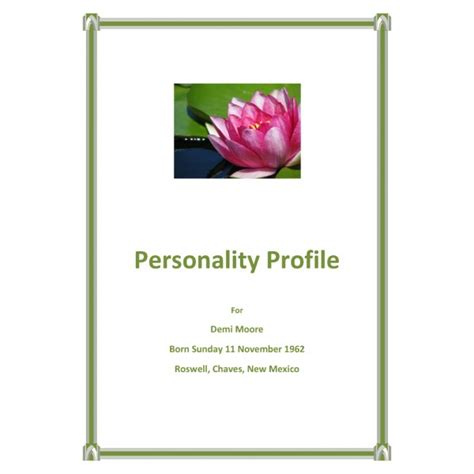 personality profile cornerstone astrology chart shop
