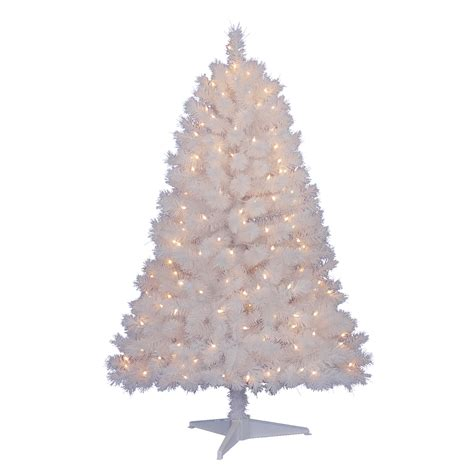 jaclyn smith 6 5 covington pre lit white cashmere pine tree