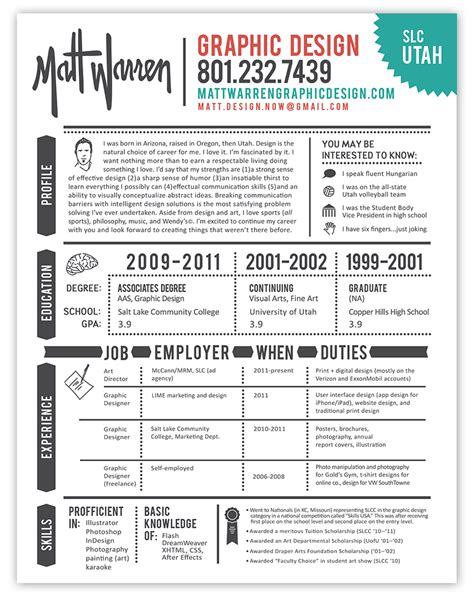 creative resume examples graphic design resume best practices and