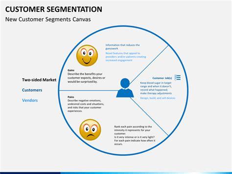ppt templates for client presentation customer segmentation powerpoint template sketchbubble