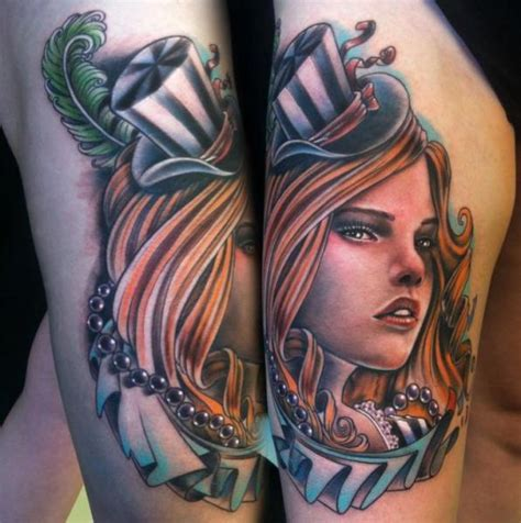 thick girls with tattoos thick hat new school by johnny smith
