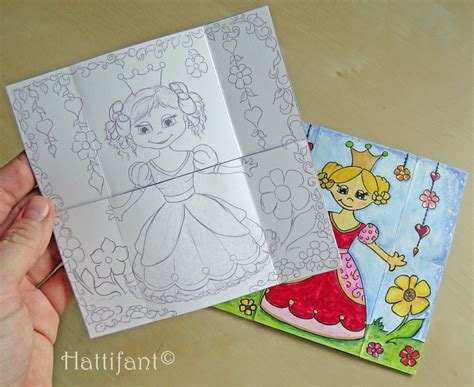 how to make endless card hattifant s endless princesses card hattifant