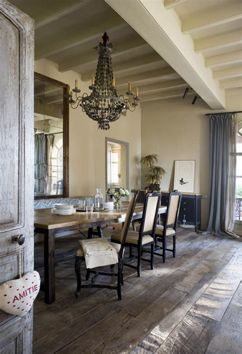Rustic Dining Room Chandeliers White Washed Loveisabella