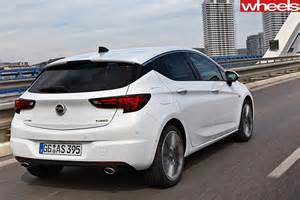 White Opel Astra 2016 Holden Astra Review