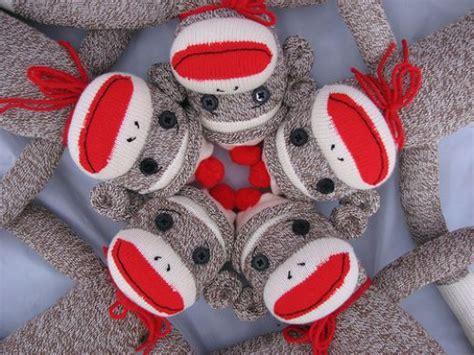 a sock monkey 40 and cozy sock monkeys to make