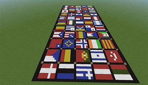 flags of the world minecraft lot of flags from all over the world minecraft project